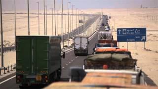 Video: Six day wait for lorries at UAE-Saudi border crossing width=