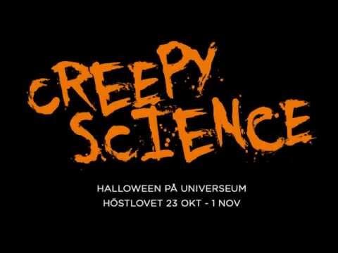 Halloween med creepy science