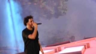 J. Cole - Wet Dreams (Live @ MSG)
