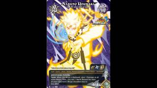 Naruto SUNS3 - New cards and select characters