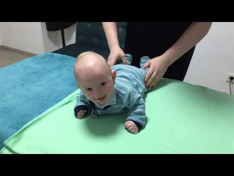 Общеукрепляющая гимнастика для грудничка. General strengthening exercises for babies. photo