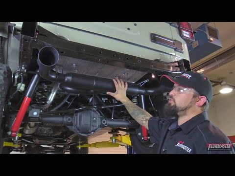 How to Install a Flowmaster Outlaw Axle Back Exhaust for Jeep Wrangler JK