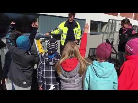 Studiebesök på Karlstads El- och Stadsnät!
