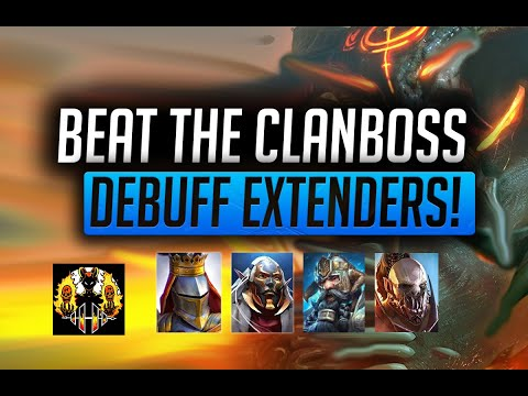 RAID: Shadow Legends | Clanboss Series | Who are the Best Debuff Extenders and how do you use them?