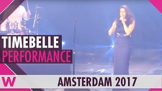 "Timebelle ""Apollo"" (Switzerland 2017) LIVE @ Eurovision in Concert 2017"