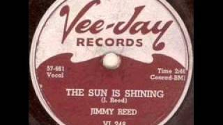 JIMMY REED  The Sun Is Shining   SEP '57