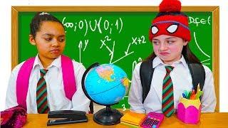 TIANA'S SCHOOL DAY VS WEEKEND!!