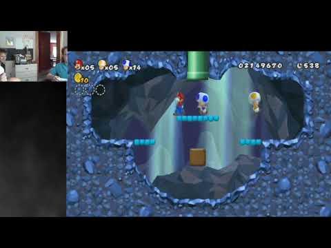 new super mario bros  Wii with Chodnazoop part 5
