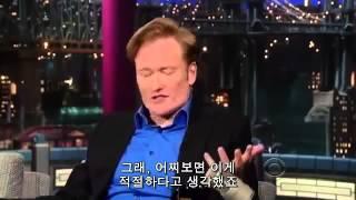 코난 오브��언, ��비드 레터맨 쇼 '투나잇 쇼 �후� 코난' (한글 �막)