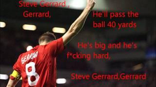 Steven Gerrard Song-Lyrics