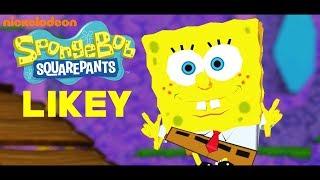 [MMD] TWICE - LIKEY ft. Spongebob (RANDOM)