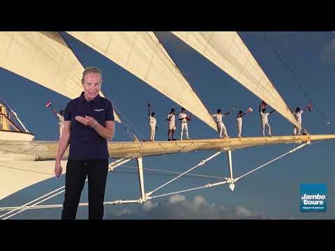 Drömseglats i Västindien med Star Flyer
