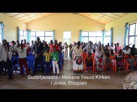 Gudstjeneste i Jinka, Etiopien