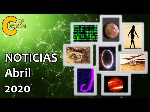 Noticias científicas abril 2020