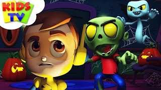 Hello It's Halloween Scary Nursery Rhymes | Scary Song For Kids & Children With Supremes