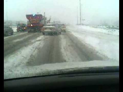 Nieve en Toronto