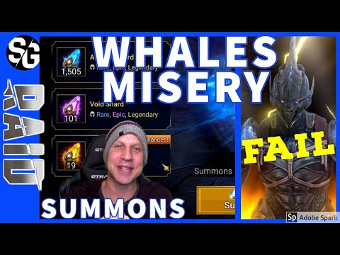RAID SHADOW LEGENDS | WHALES MISERY SUMMONS | XANDER KAGE
