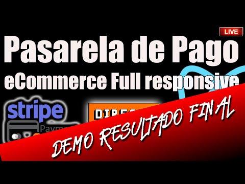 [DEMO] Pasarela de Pago para eCommerce Full Responsive  ⚛️
