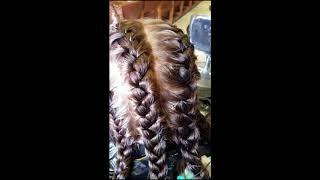 Wave perm using braids