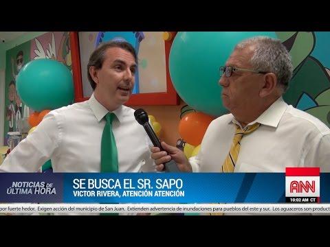 ¡¡Noticia de última hora!! ¿Alguien ha visto al Sr. Sapo?