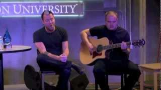 """Thousand Foot Krutch """"Let The Sparks Fly"""" ACOUSTIC"""