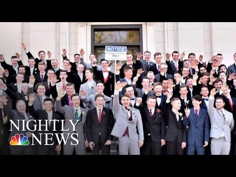 Photographer Behind Photo Appearing To Show Students Giving Nazi Salute Speaks | NBC Nightly News