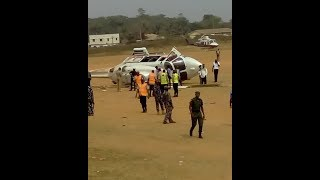 See How Helicopter Carrying Vice President Osinbajo Crashed in Kogi State [WATCH VIDEO]