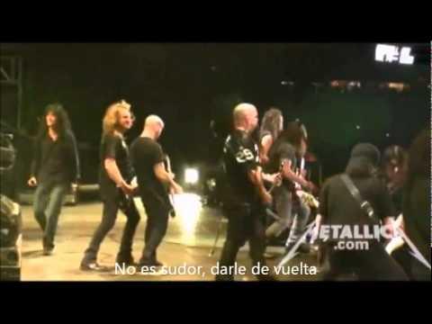 overkill en español de metallica Letra y Video