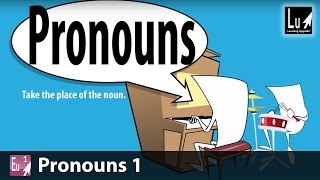 Pronouns 1 Song – Learn Grammar – Learning Upgrade App