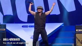 BALLBREAKER TRIBUTO AC/DC - You shook me all night long