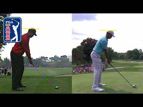 Tiger Woods? swing comparison 2000 vs. 2019