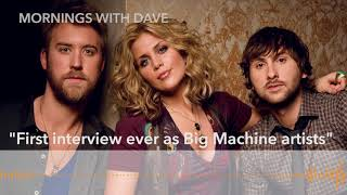 Lady Antebellum's First Interview Since Switching To Big Machine!