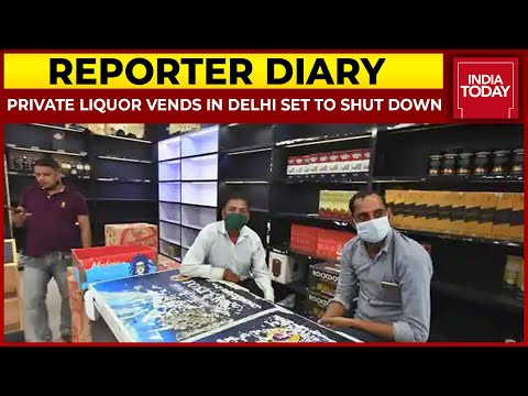 Delhi Excise Policy: Private Liquor Shops To Be Shut From October 1   Reporter Diary