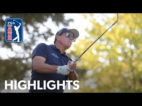 Phil Mickelson shoots 3-under 69   Round 2   Fortinet   2021