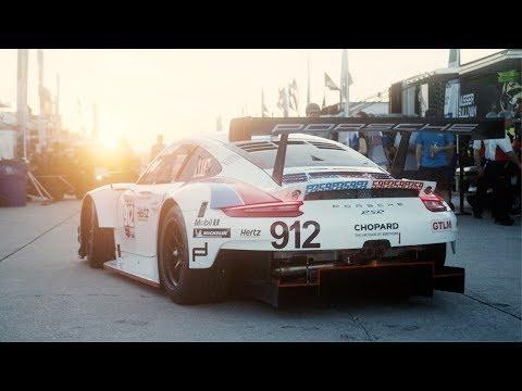 Porsche at Super Sebring 2019.