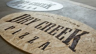 How to make a Torched Wood Sign