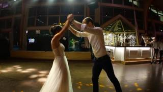 """Our first dance inspired by Ed Sheeran's """"Thinking out loud"""" video"""