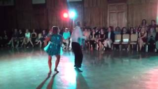 Greg & Linda dance the jive