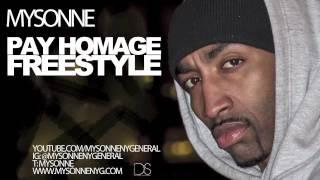 "Mysonne - ""Pay Homage"" - 2014 - Big L Tribute - [Freestyle Track]"