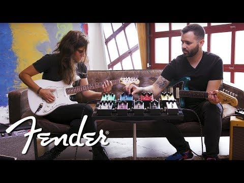 Exploring The Newest Signal Chain   Effects Pedals   Fender