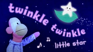 Twinkle Twinkle Little Star - MUSIC VIDEO FOR KIDS - Puppets & Animation