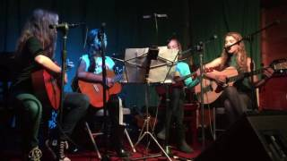 On My Way cover, Valerie June - Mina, Eleni, Leila, and Sophia - Starry Plough - 10/16/16