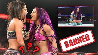 YOU'LL NEVER BELIEVE WHAT SASHA BANKS DID THAT GOT HER REMOVED FROM EVOLUTION AND MMC (WWE Raw)