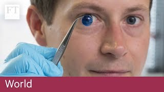 Human corneas 3D printed for first time
