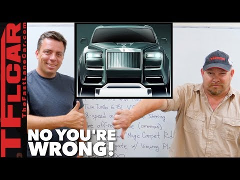Is The New Rolls-Royce Cullinan Butt Ugly or Brilliant? No, You're Wrong Ep.1