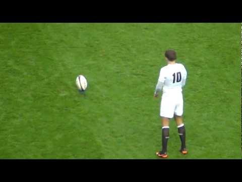 Toby Flood Scores England v South Africa – Twickenham Nov 2012
