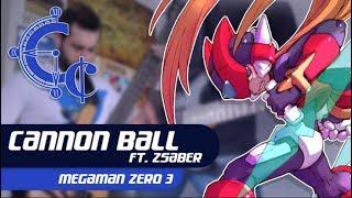 Cannonball - Mega Man Zero 3 Guitar Cover ll ChequerChequer Feat Z Saber - VGMetal