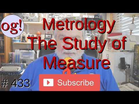 Metrology : The Study of Measure (#433)