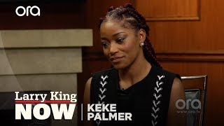 Keke Palmer further addresses Trey Songz incident with Larry King | Larry King Now | Ora.TV