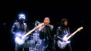 Daft Punk - Get Lucky (Ft.Pharrell Williams & Nile Rodgers) ( CLIP )